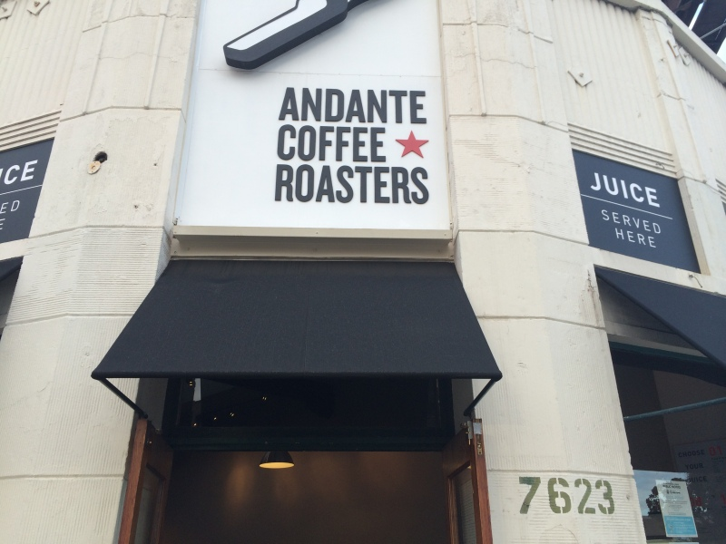 Andante coffee and roasters